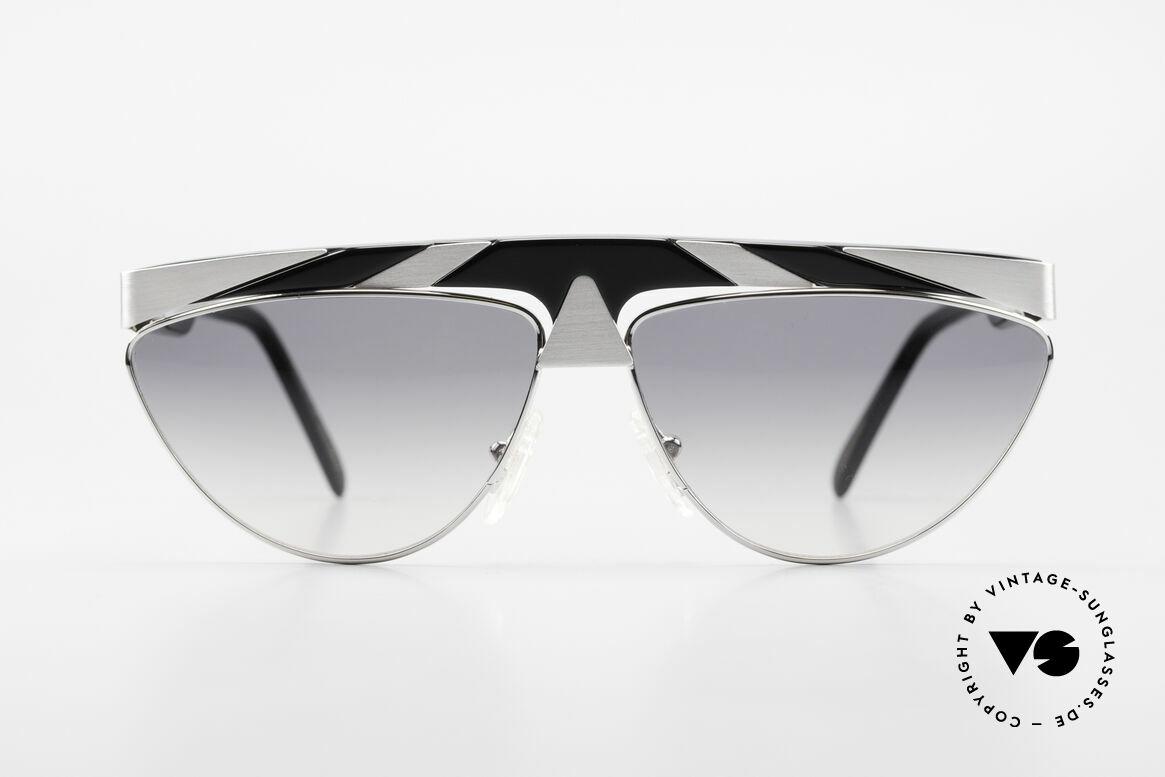 Alpina G85 Genesis Project 80er Brille, außergewöhnliches Brillendesign in Farbe und Form, Passend für Herren und Damen