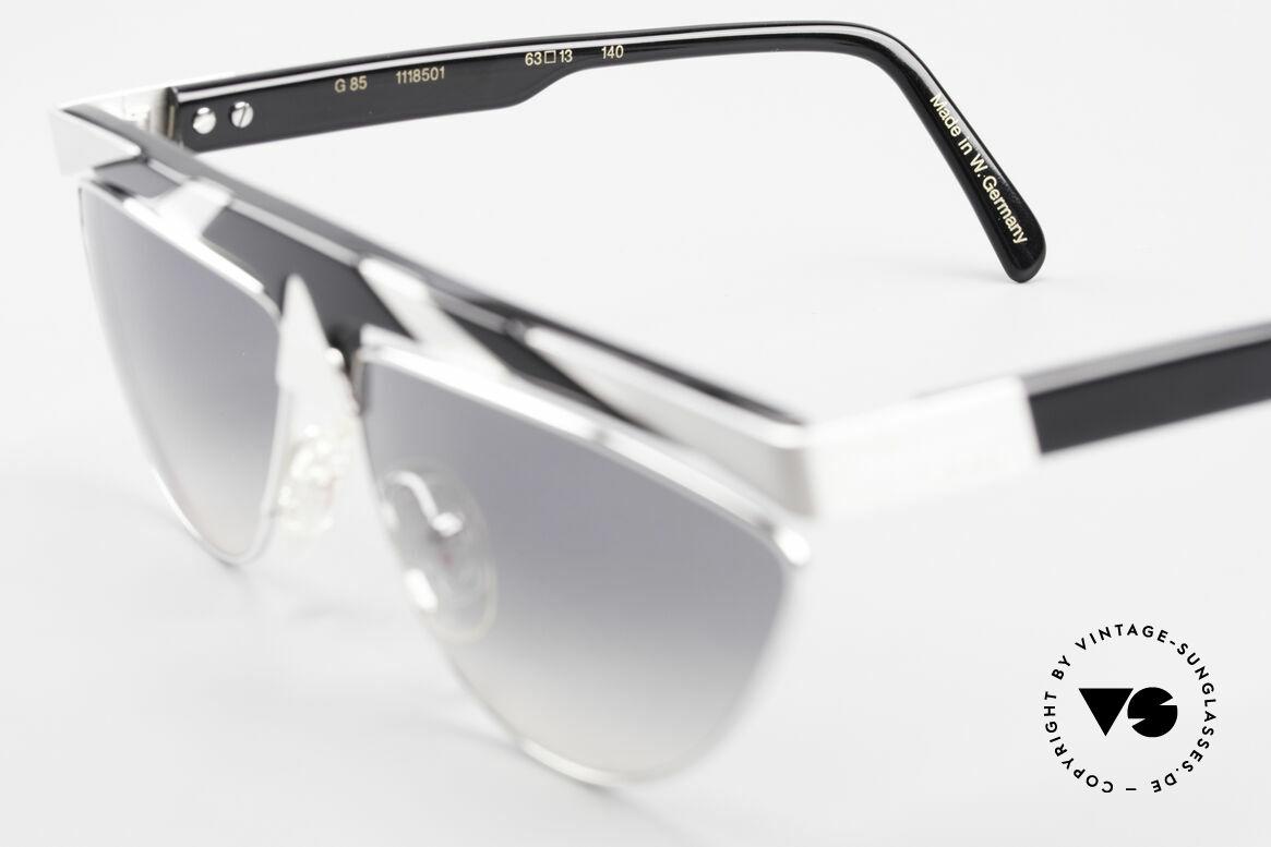 Alpina G85 Genesis Project 80er Brille, Größe: medium, Passend für Herren und Damen