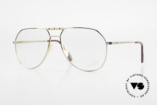 Alpina FM27 Alte Vintage Pilotenbrille 80er Details