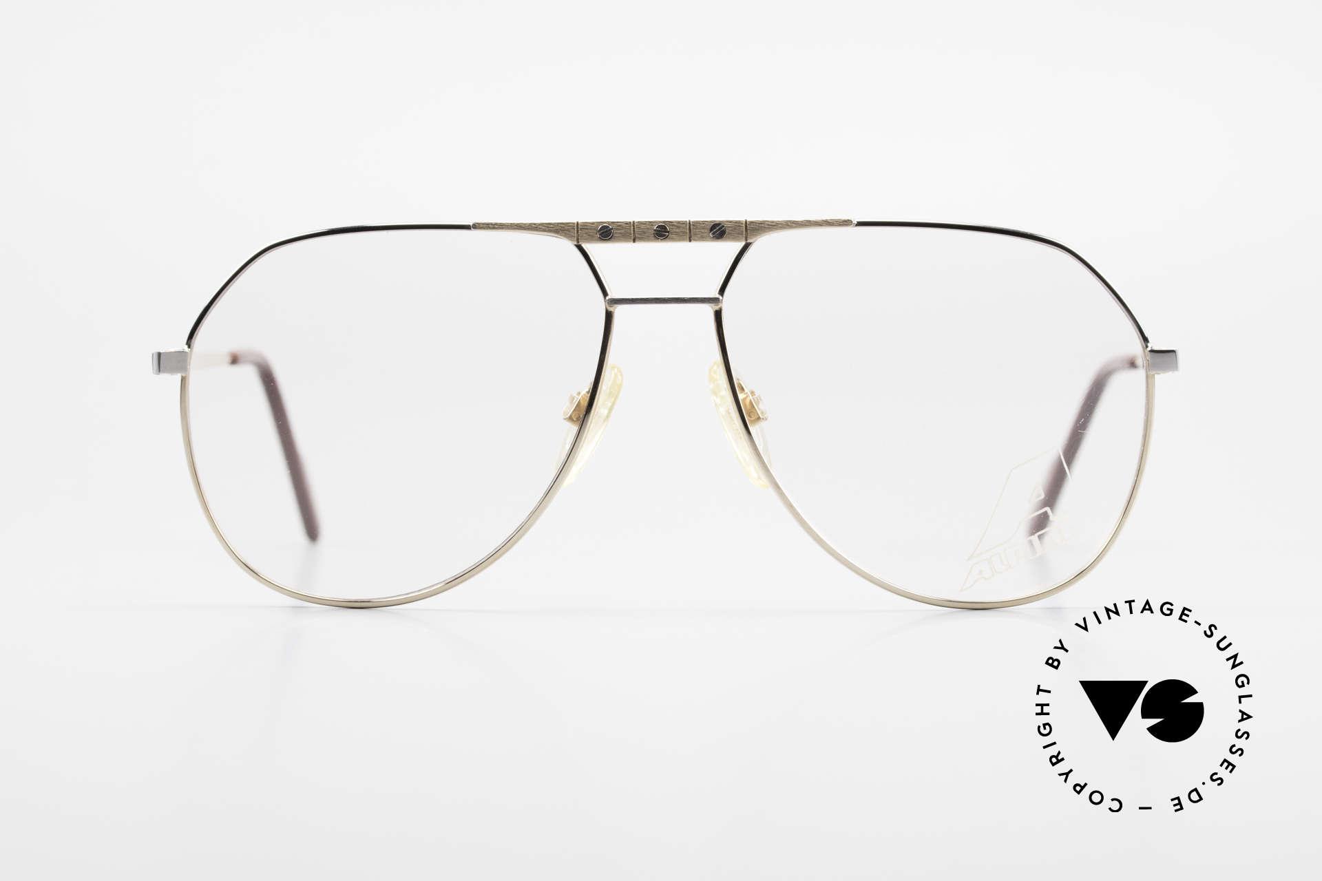 Alpina FM27 Alte Vintage Pilotenbrille 80er, enorm (fühlbar) hochwertig (made in W.Germany), Passend für Herren