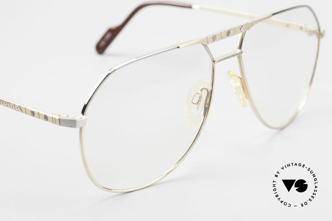 Alpina FM27 Alte Vintage Pilotenbrille 80er, KEINE retro Brille; ein circa 30 J. altes ORIGINAL, Passend für Herren