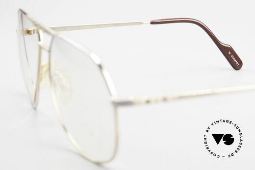 Alpina FM27 Alte Vintage Pilotenbrille 80er, Demogläser können durch optische ersetzt werden, Passend für Herren