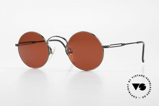 Jean Paul Gaultier 55-0172 Runde 90er JPG Sonnenbrille Details