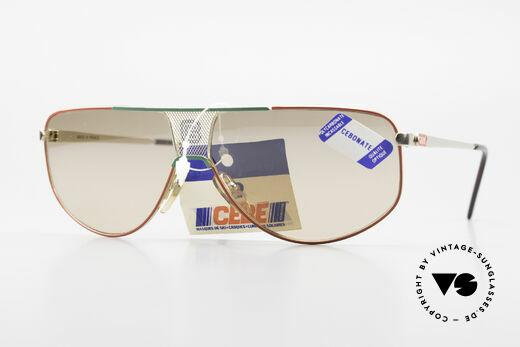 Cebe 0299 90er Sportsonnenbrille Ski Details