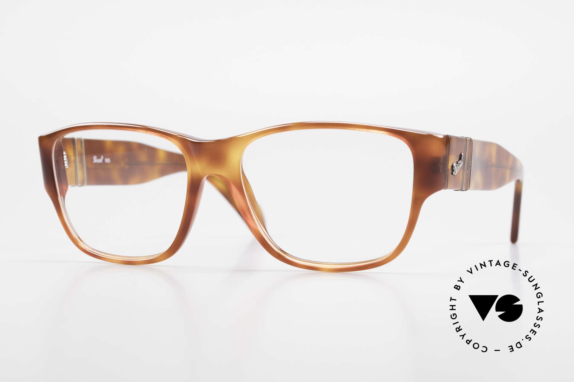 Persol 856 Markante Herren Vintage Brille, elegante vintage Persol Brillenfassung der 1990er, Passend für Herren