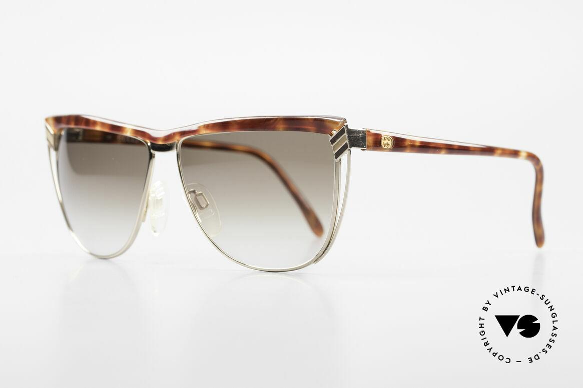 Gucci 2300 Damen Designer Sonnenbrille, eine echte italienische Rarität in Premium-Qualität, Passend für Damen
