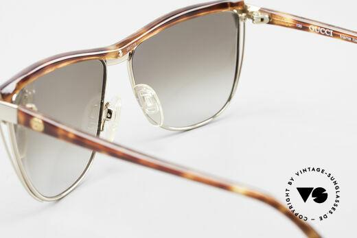 Gucci 2300 Damen Designer Sonnenbrille, Sonnengläser (100%UV) können beliebig ersetzt werden, Passend für Damen