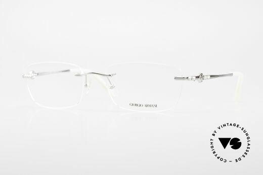 Giorgio Armani 310 Randlose Vintage Fassung Details
