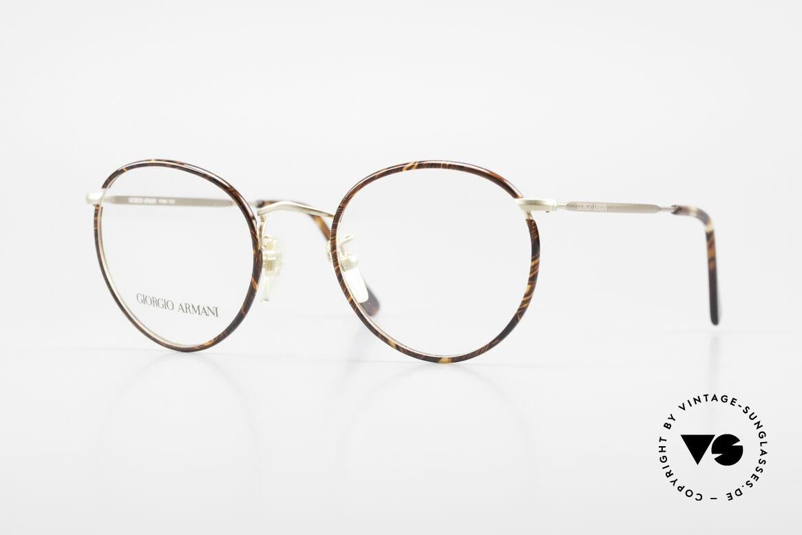 Giorgio Armani 112 90er Panto Fassung Herren, zeitlose Giorgio Armani Brillenfassung aus den 90ern, Passend für Herren