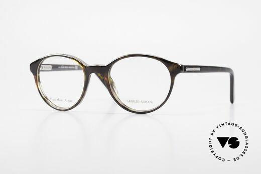 Giorgio Armani 467 Unisex Panto Vintage Brille Details