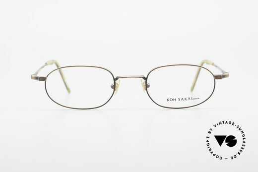 Koh Sakai KS9706 Original Made in Japan Brille, Größe: medium, Passend für Herren und Damen
