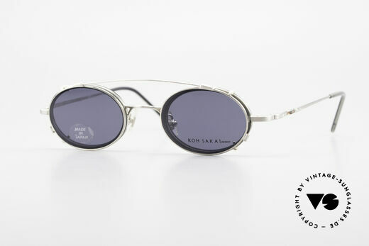 Koh Sakai KS9831 90er Brille Oval Made in Japan Details