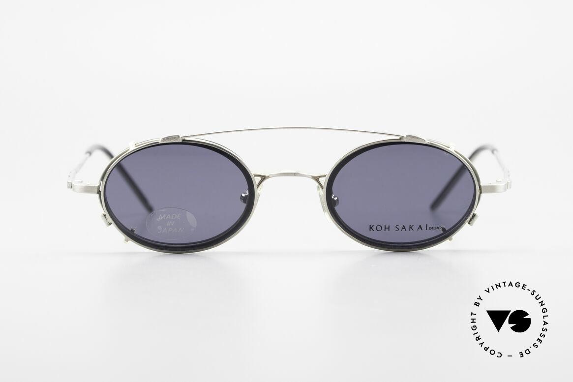Koh Sakai KS9831 90er Brille Oval Made in Japan, Koh Sakai, BADA und OKIO Brillen waren ein Vertrieb, Passend für Herren