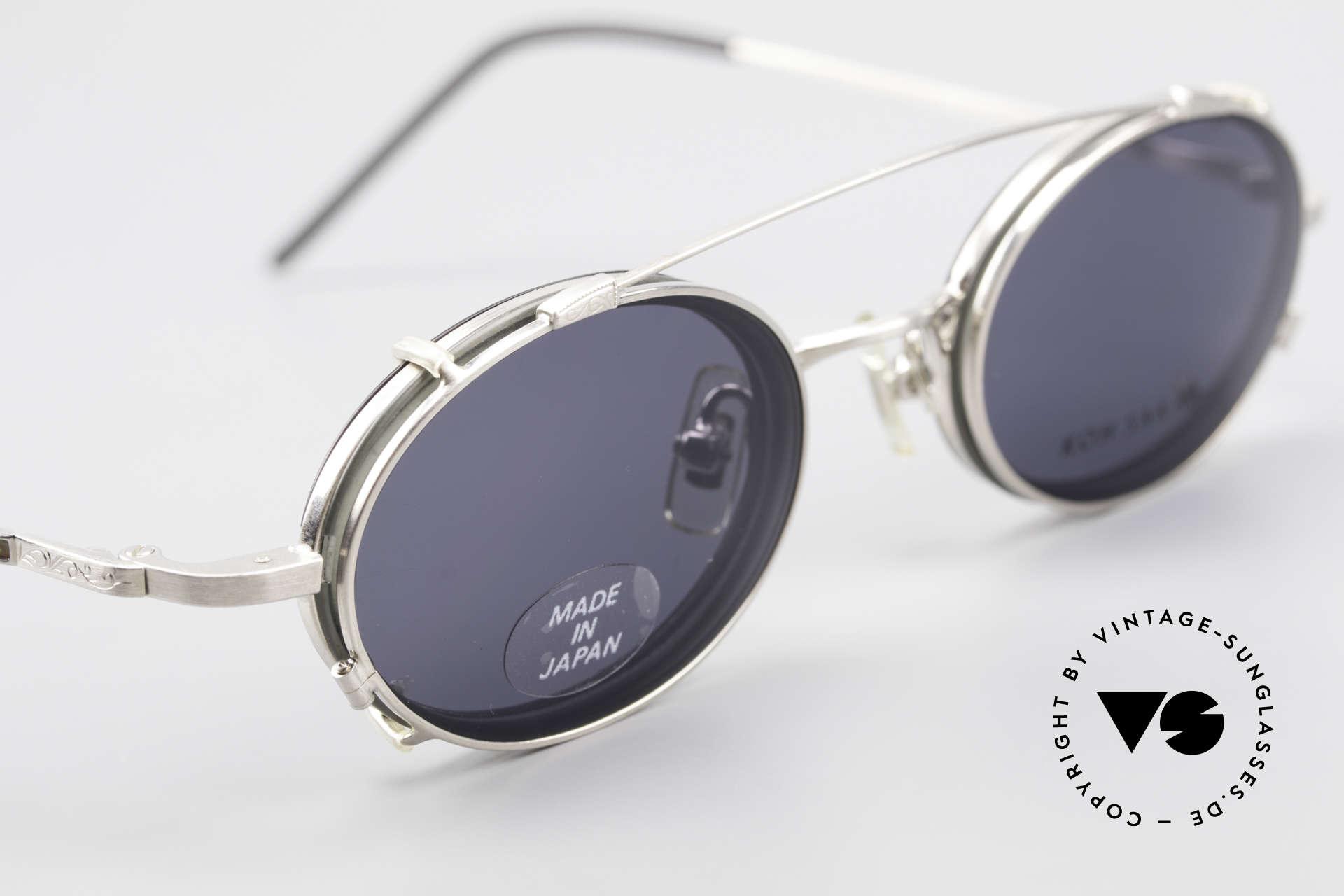 Koh Sakai KS9831 90er Brille Oval Made in Japan, entsprechend sind Qualität & Anmutung identisch top, Passend für Herren