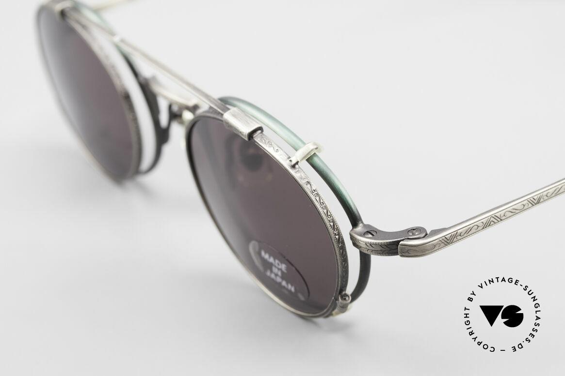 Koh Sakai KS9301 90er Oliver Peoples Eyevan Stil, entsprechend sind Qualität & Anmutung identisch top, Passend für Herren