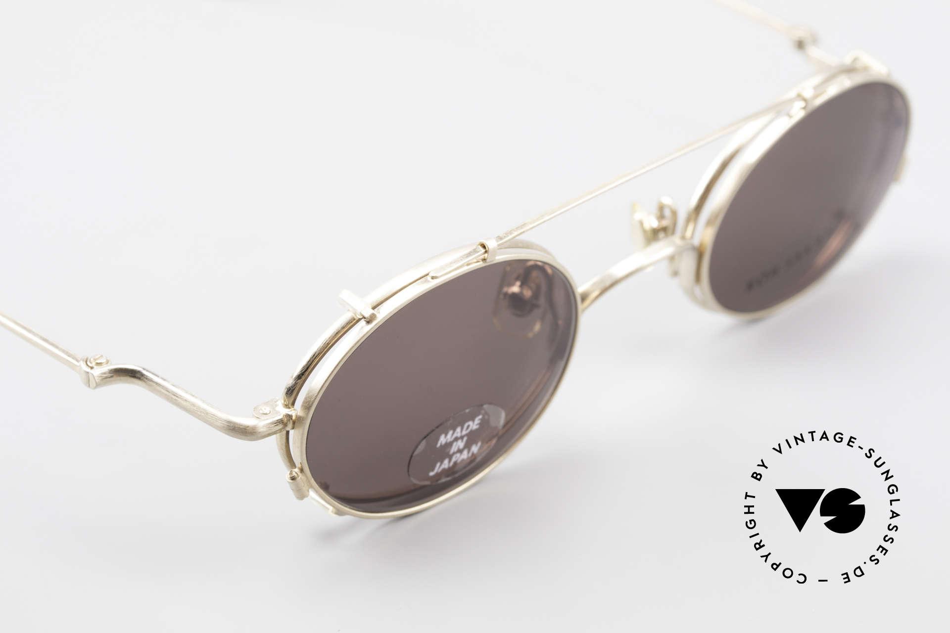 Koh Sakai KS9541 Ovale Brille Made in Japan 90er, entsprechend sind Qualität & Anmutung identisch top, Passend für Herren und Damen