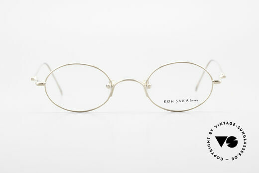Koh Sakai KS9541 Ovale Brille Made in Japan 90er, Größe: small, Passend für Herren und Damen