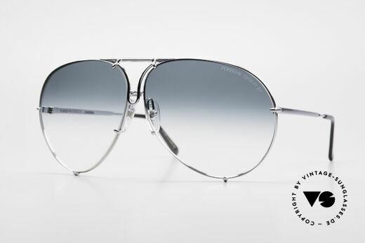 Porsche 5621 80er XL Piloten Sonnenbrille Details