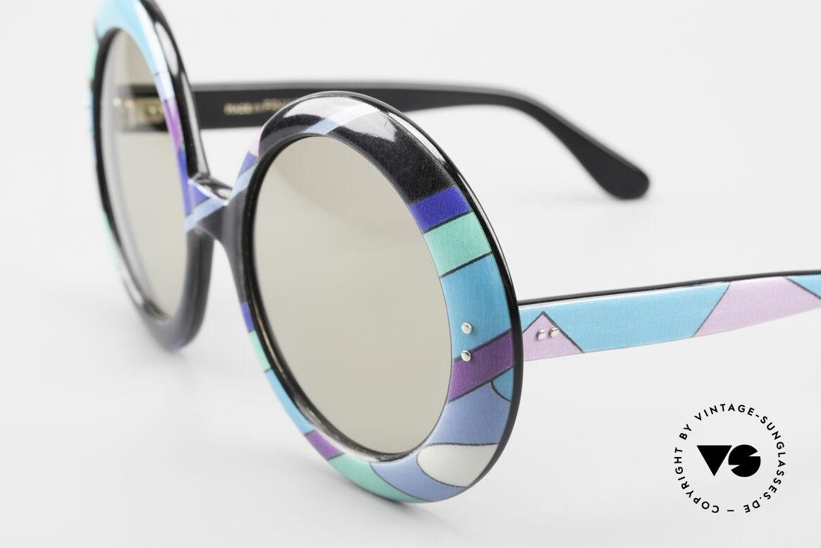 Emilio Pucci XXL Übergroße 60er Sonnenbrille, Jacqueline Kennedy trugen die Pucci-Kreationen in 60ern, Passend für Damen