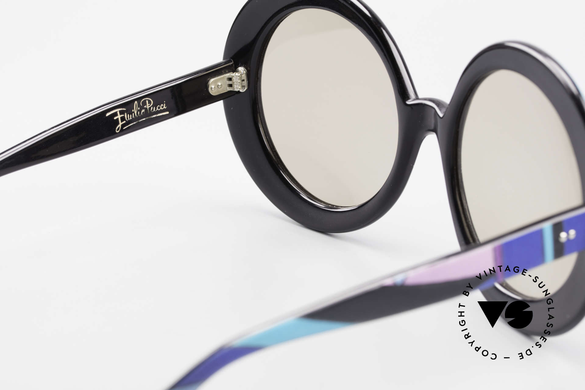 Emilio Pucci XXL Übergroße 60er Sonnenbrille, KEINE RETRO-BRILLE, sondern ein echtes altes UNIKAT!, Passend für Damen