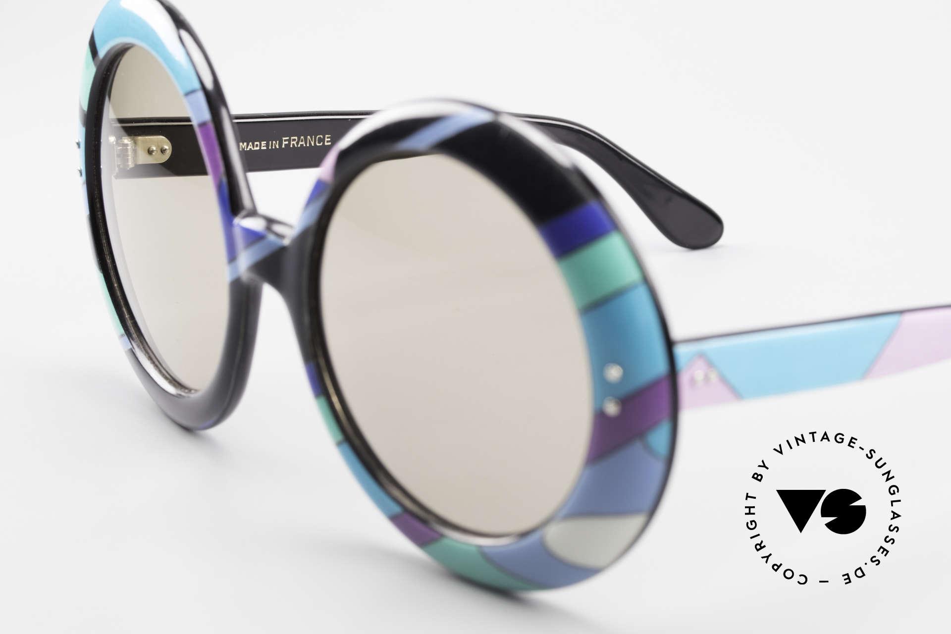 Emilio Pucci XXL Übergroße 60er Sonnenbrille, ein altes 60er ORIGINAL in tollem Zustand, Museumsstück, Passend für Damen