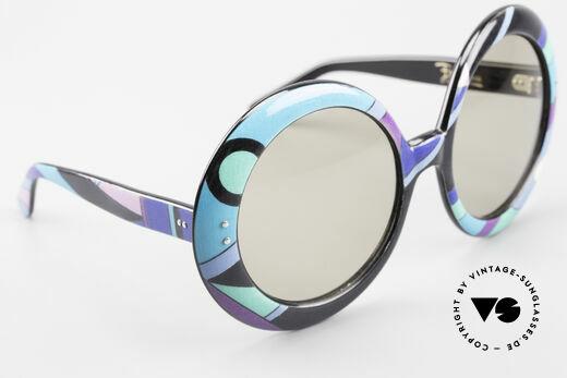 Emilio Pucci XXL Übergroße 60er Sonnenbrille, Größe: extra large, Passend für Damen