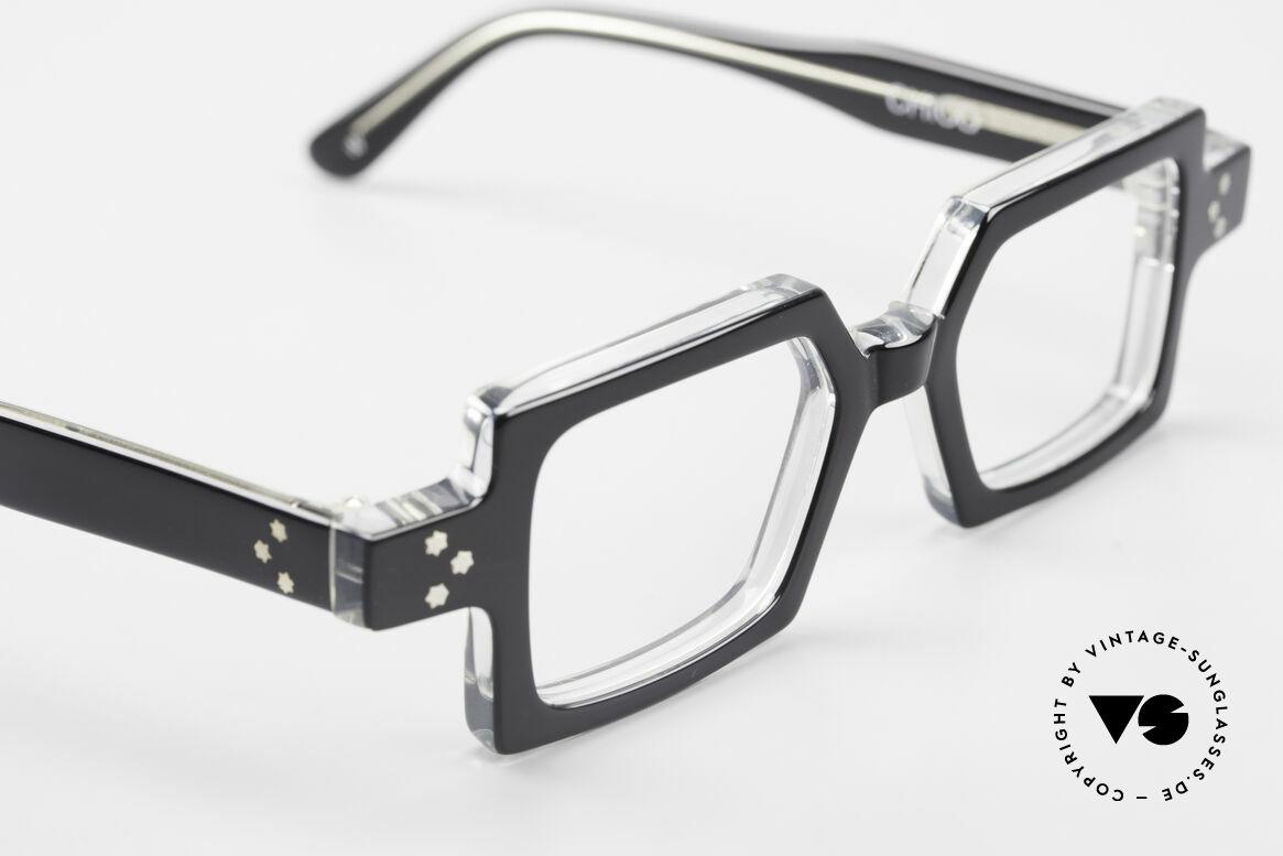 Anne Et Valentin Chico Alte 80er Brille Eckig Markant, dieses Modell stammt noch aus den Anfängen von A&V, Passend für Herren und Damen