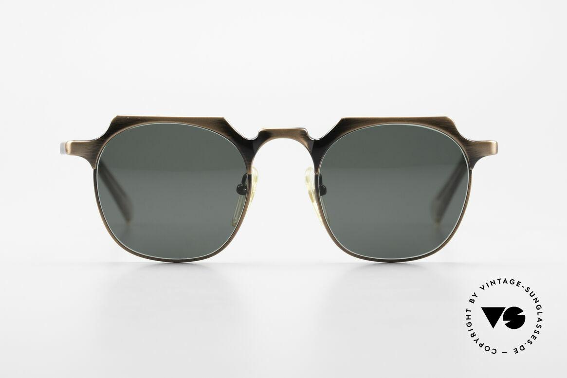 Jean Paul Gaultier 57-0171 Panto Sonnenbrille Eckig 90er, eines der TOP-Modelle der Junior Gaultier Series, Passend für Herren