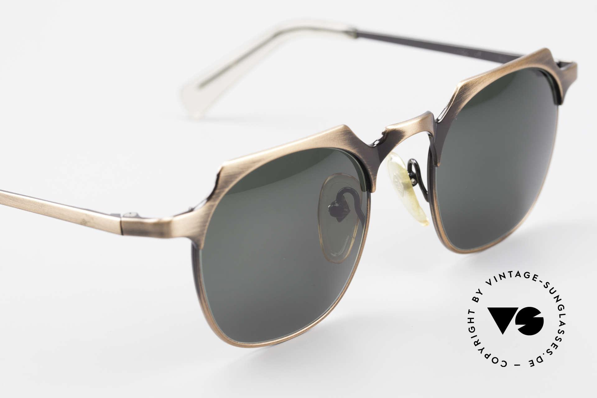 Jean Paul Gaultier 57-0171 Panto Sonnenbrille Eckig 90er, ungetragen (wie alle unsere alten Designerbrillen), Passend für Herren