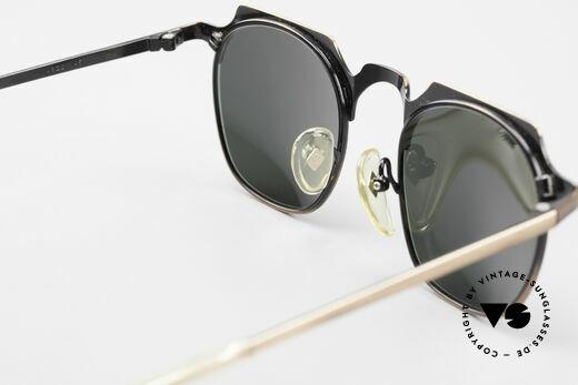 Jean Paul Gaultier 57-0171 Panto Sonnenbrille Eckig 90er, KEINE Retromode; ein ca. 25 Jahre altes Original!, Passend für Herren