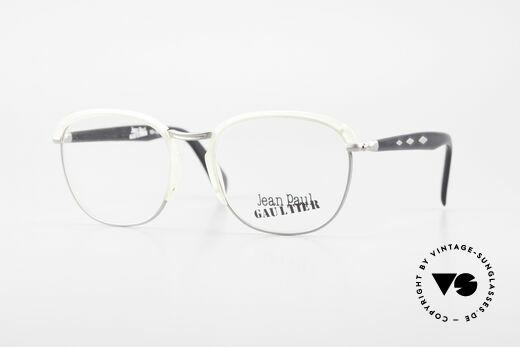 Jean Paul Gaultier 55-1273 Alte 90er Vintage Brille JPG Details