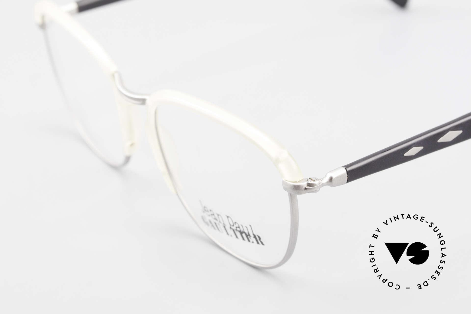 Jean Paul Gaultier 55-1273 Alte 90er Vintage Brille JPG, unbenutzt (wie alle unsere vintage Gaultier Originale), Passend für Herren und Damen