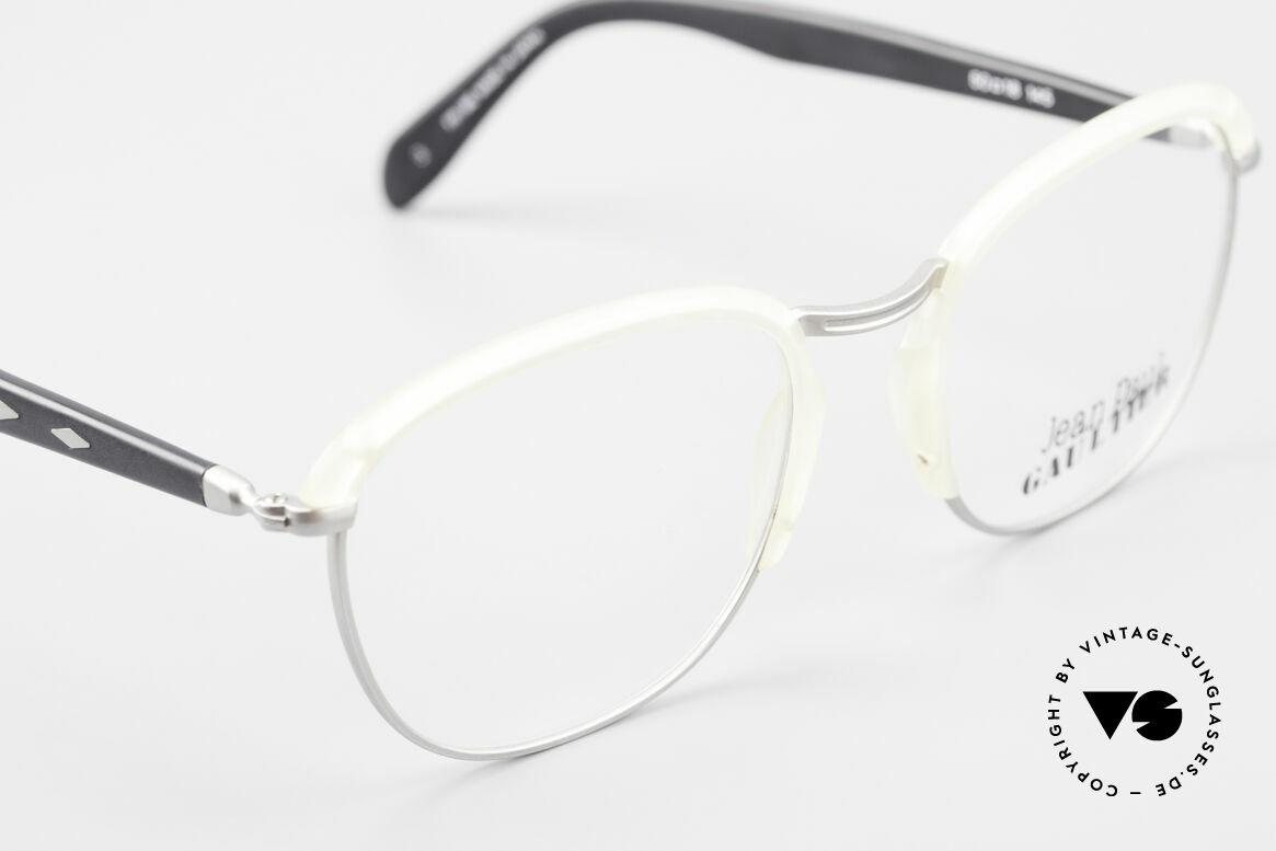 Jean Paul Gaultier 55-1273 Alte 90er Vintage Brille JPG, KEINE Retrobrille, sondern ein altes Original von 1993, Passend für Herren und Damen