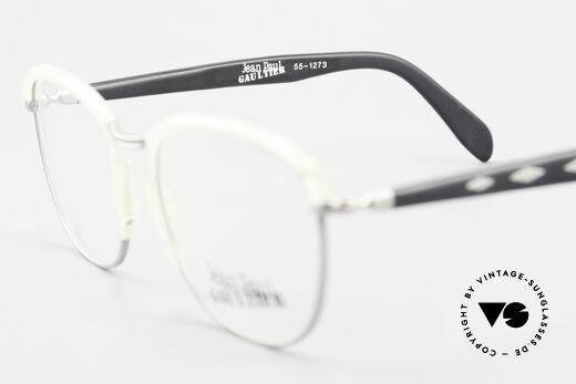Jean Paul Gaultier 55-1273 Alte 90er Vintage Brille JPG, Fassung (Medium Größe) kann beliebig verglast werden, Passend für Herren und Damen