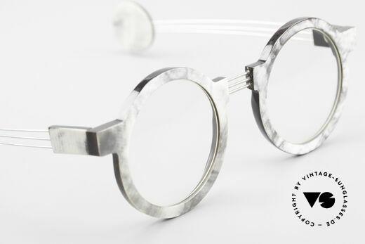 P. Klenk String 027 Echthornbrille Panto Vintage, die HornFassung kann natürlich beliebig verglast werden, Passend für Herren und Damen