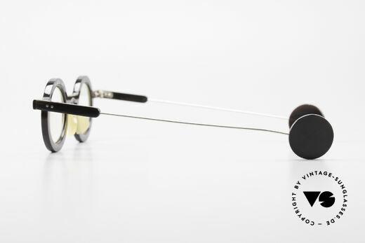 P. Klenk Rugby 014 Echthornbrille Rund Vintage, die HornFassung kann natürlich beliebig verglast werden, Passend für Herren