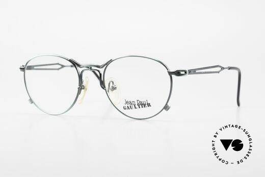 Jean Paul Gaultier 55-2177 Rare Designer Fassung JPG Details