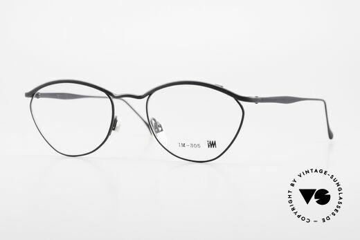 Miyake Design Studio IM305 90er Insider Brille All Titan Details