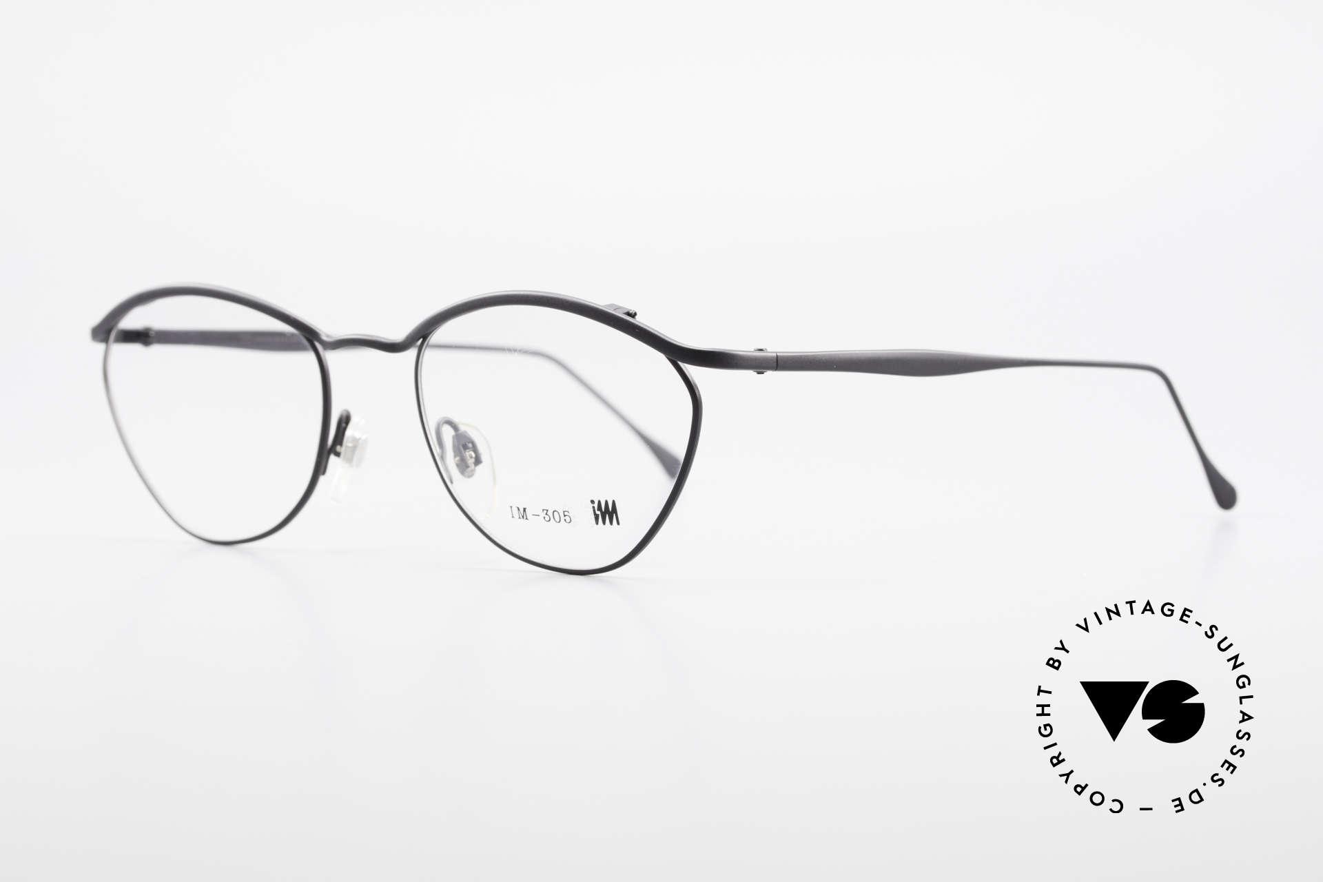 Miyake Design Studio IM305 90er Insider Brille All Titan, MIYAKE DESIGN STUDIO = Issey Miyake = I.M. 305, Passend für Herren und Damen