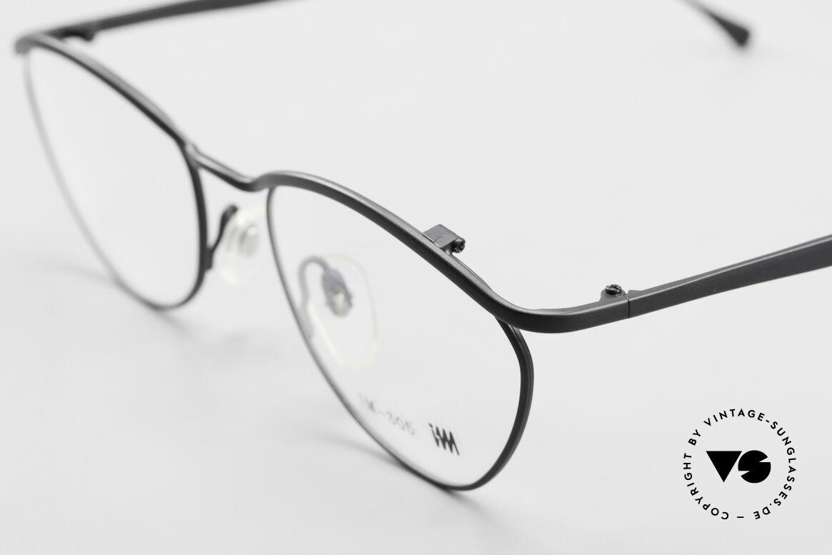 Miyake Design Studio IM305 90er Insider Brille All Titan, überragende alte Handwerkskunst (made in Japan), Passend für Herren und Damen