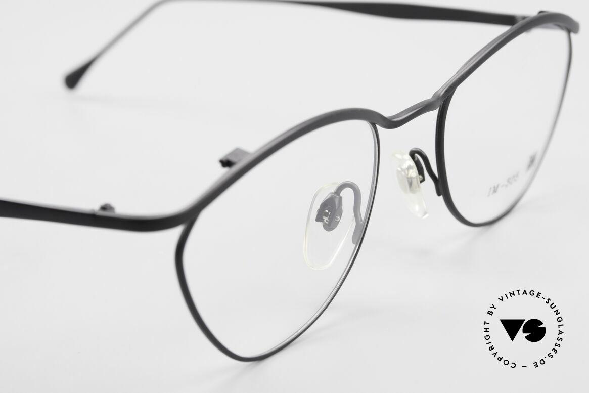 Miyake Design Studio IM305 90er Insider Brille All Titan, ungetragenes 90er Einzelstück, KEINE Retrobrille, Passend für Herren und Damen