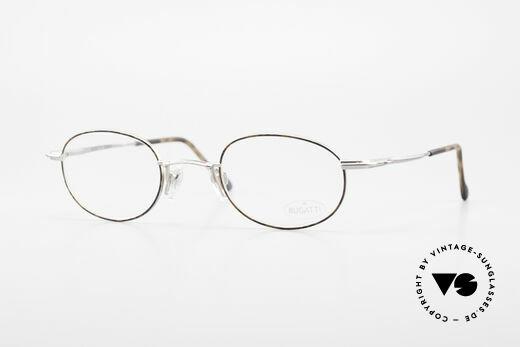 Bugatti 23547 90er Titanium Brillenfassung Details