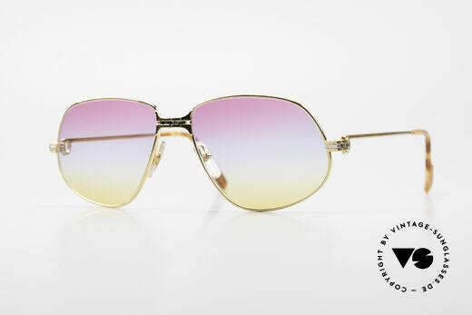 Cartier Panthere G.M. - XL Sunrise Gläser Mit Bvlgari Etui Details