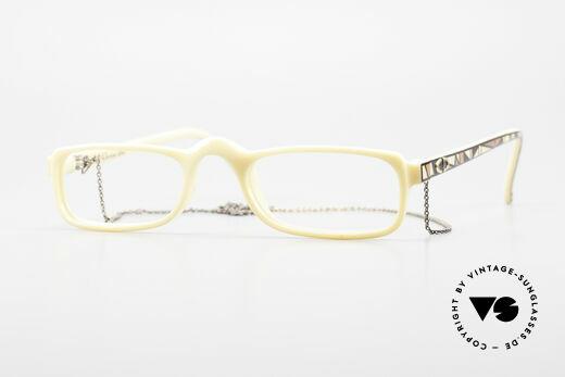 Christian Dior 2356 Vintage Lesebrille Mit Kette Details