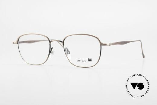Miyake Design Studio IM404 Insider Brille All Titan 90er Details