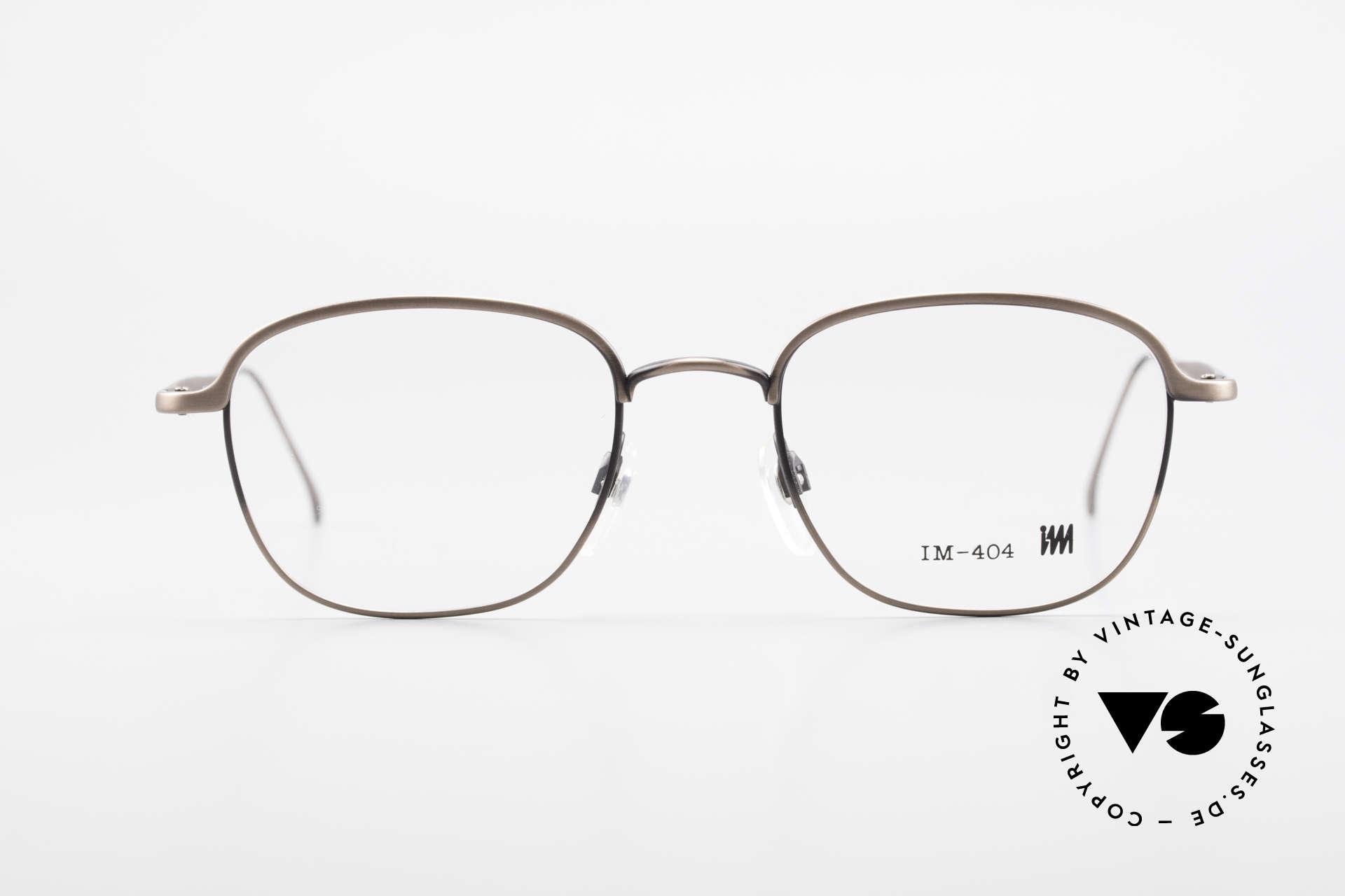 Miyake Design Studio IM404 Insider Brille All Titan 90er, eine echte INSIDER-Brille ohne großes Branding, Passend für Herren und Damen