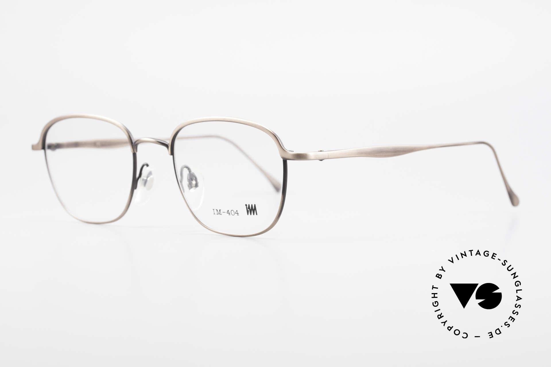 Miyake Design Studio IM404 Insider Brille All Titan 90er, MIYAKE DESIGN STUDIO = Issey Miyake = I.M. 404, Passend für Herren und Damen