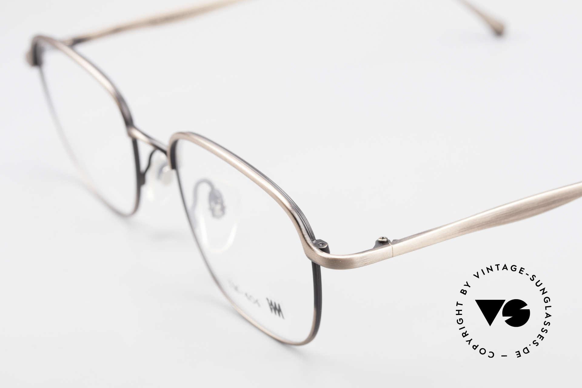 Miyake Design Studio IM404 Insider Brille All Titan 90er, überragende alte Handwerkskunst (made in Japan), Passend für Herren und Damen