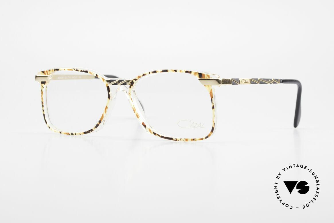 Cazal 341 Alte Vintage Brille No Retro, ausgefallenes Brillendesign von CAZAL (um 1990), Passend für Herren und Damen