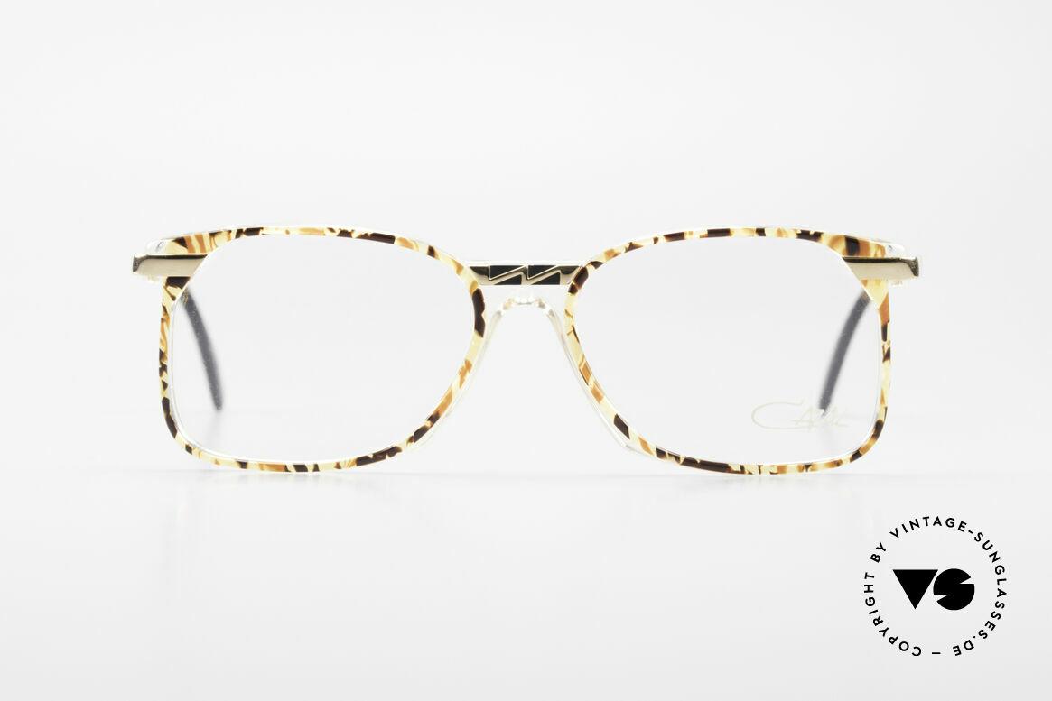 Cazal 341 Alte Vintage Brille No Retro, tolle Kombination von Transparenz, Farbe & Metall, Passend für Herren und Damen